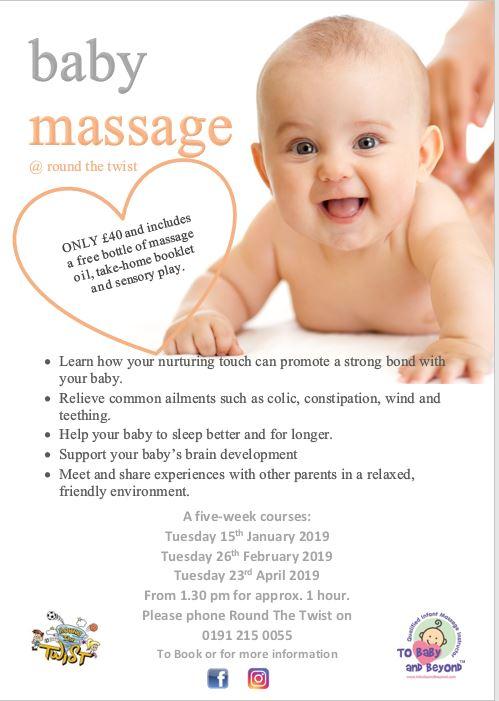 Baby Massage @ Round The Twist 2019 – Round the Twist